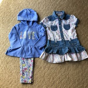 A Bundle Of Girls Outfit